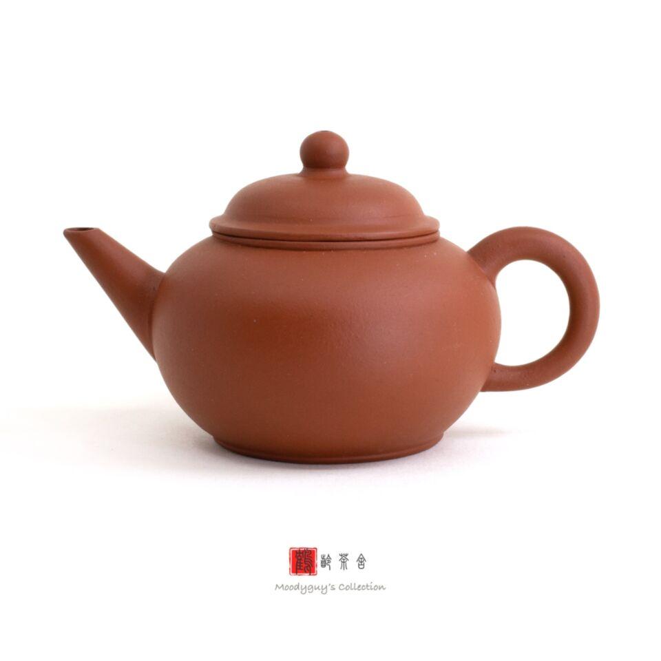 F1, Factory #1, Yixing, zisha, teapot, shuiping, Hong Ni, Tíng jì, 60s, 6-cup