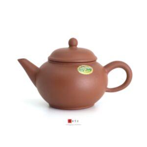 一廠, 宜興, 紫砂, 茶壺, 年糕泥, 水平壺, 80年代, 4杯, 綠標